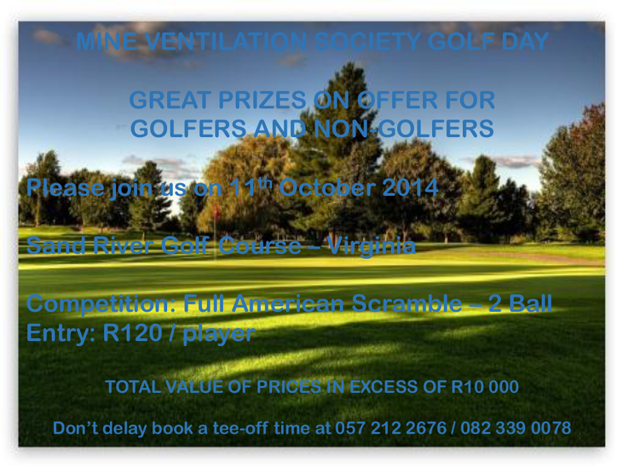 11 October 2014 - Golf Day