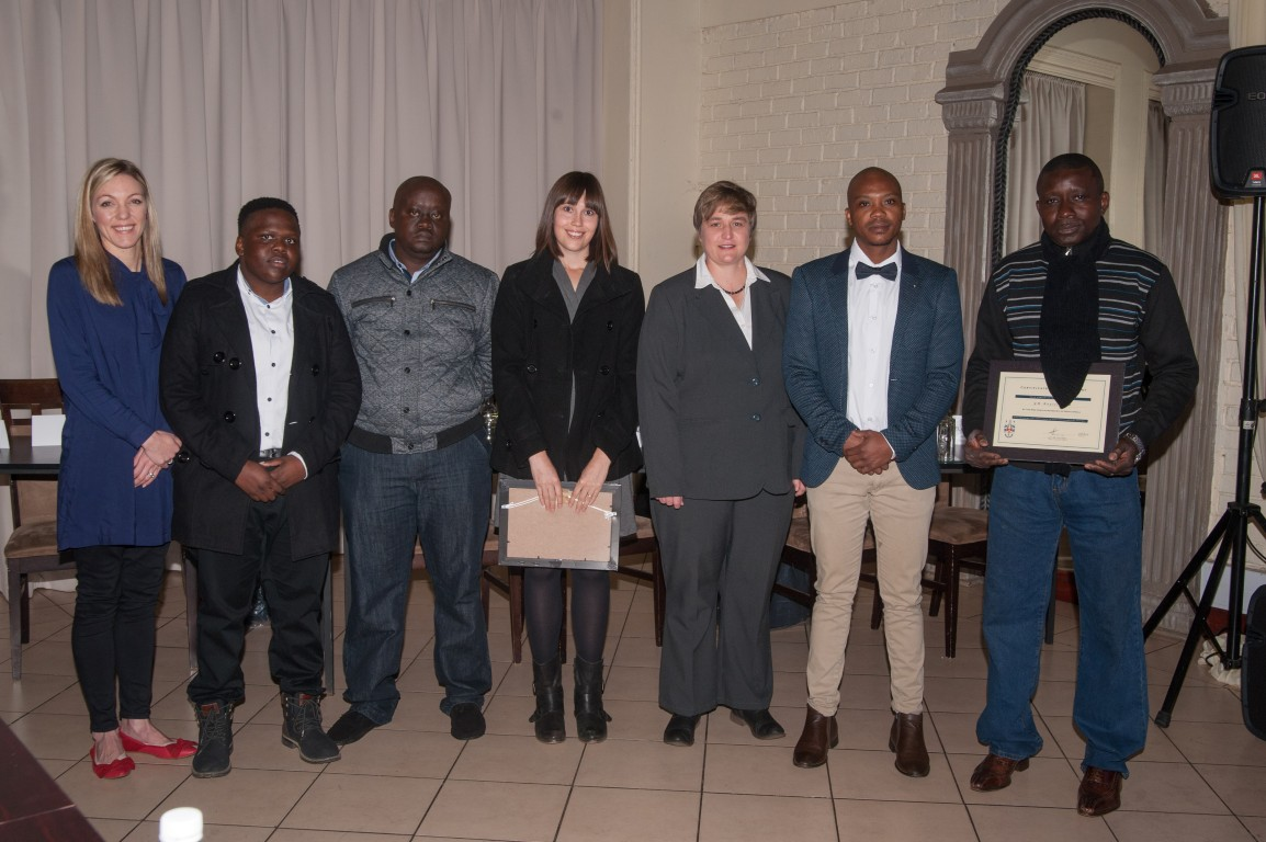 thirteen candidates obtained the Certificate in Mine Environmental Control (CEMC) during 2015