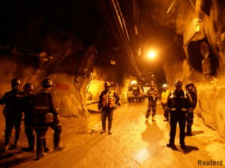 2 confirmed dead, more than 20 trapped in tunnel near Grasberg mine
