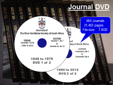 All MVSSA journals from 1948 to 2013 on DVD