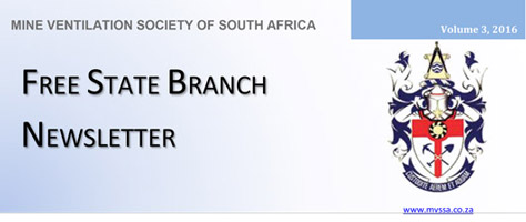 Free State Branch Newsletter Volume 3, Issue 1 – 2016