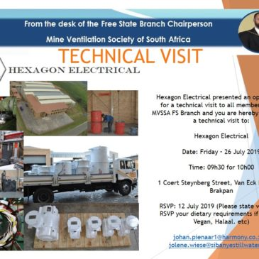 MVSSA FS Branch Technical Visit Invite